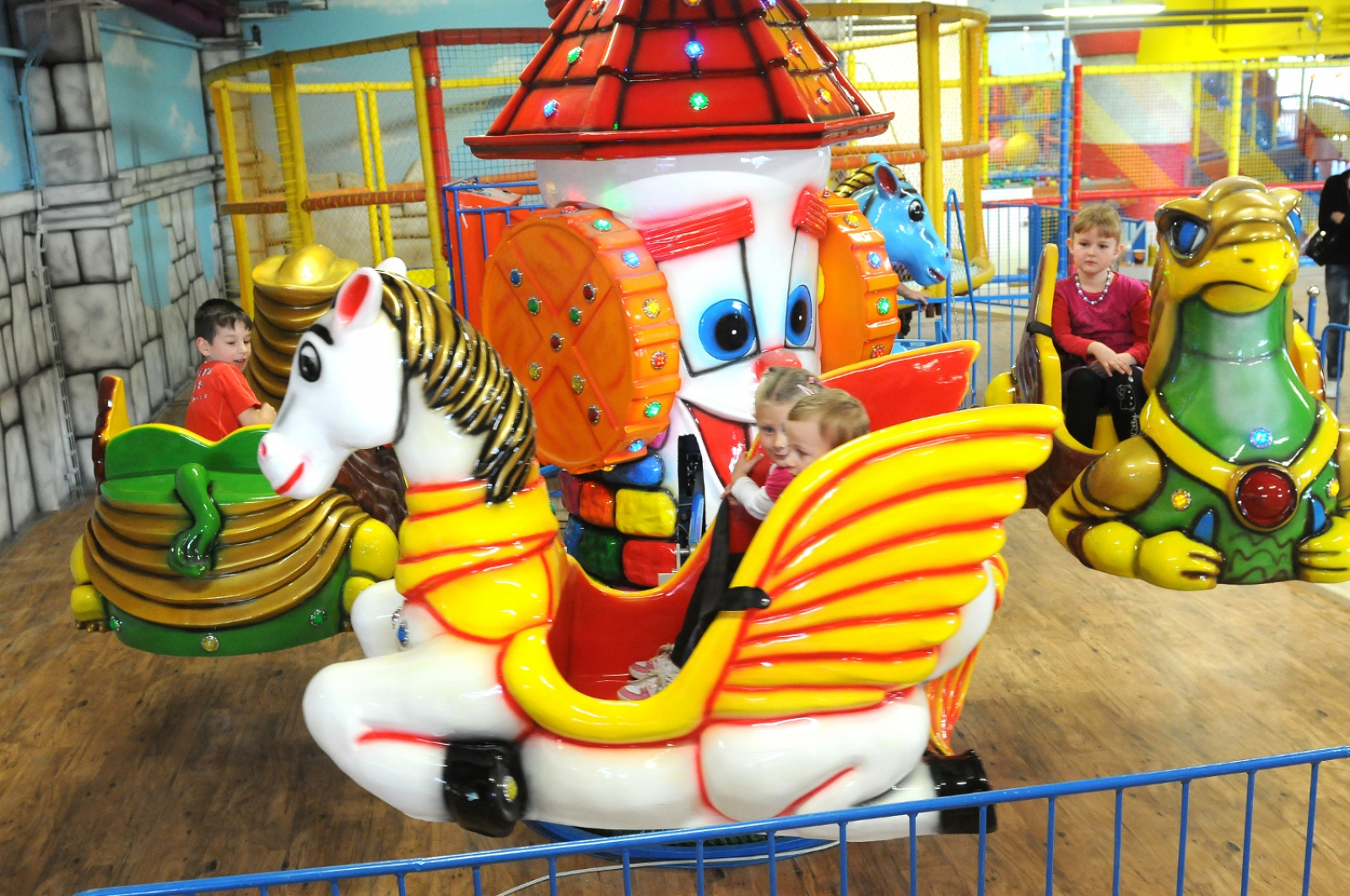 carnival carousel surely your mom used to tell you stories about rides